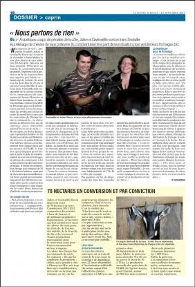 Revue de presse : Vendée agricole